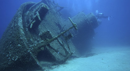 Shipwreck Diving In New England Usa
